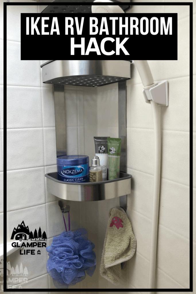IKEA RV bathroom hack Pin