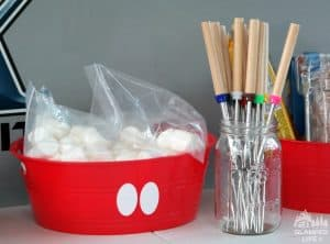 Marshmallows and Telescoping Skewers