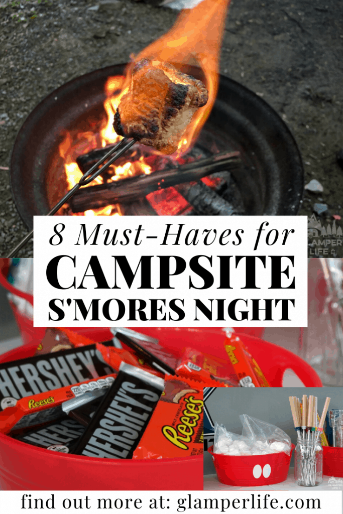 campsite smores must-haves PIN