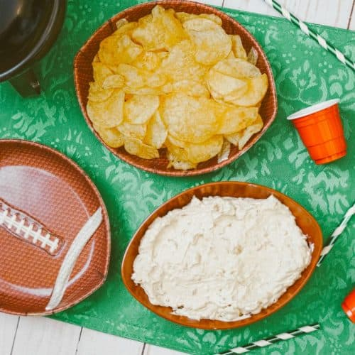 easy french onion dip tailgate recipe