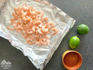 shrimp on foil