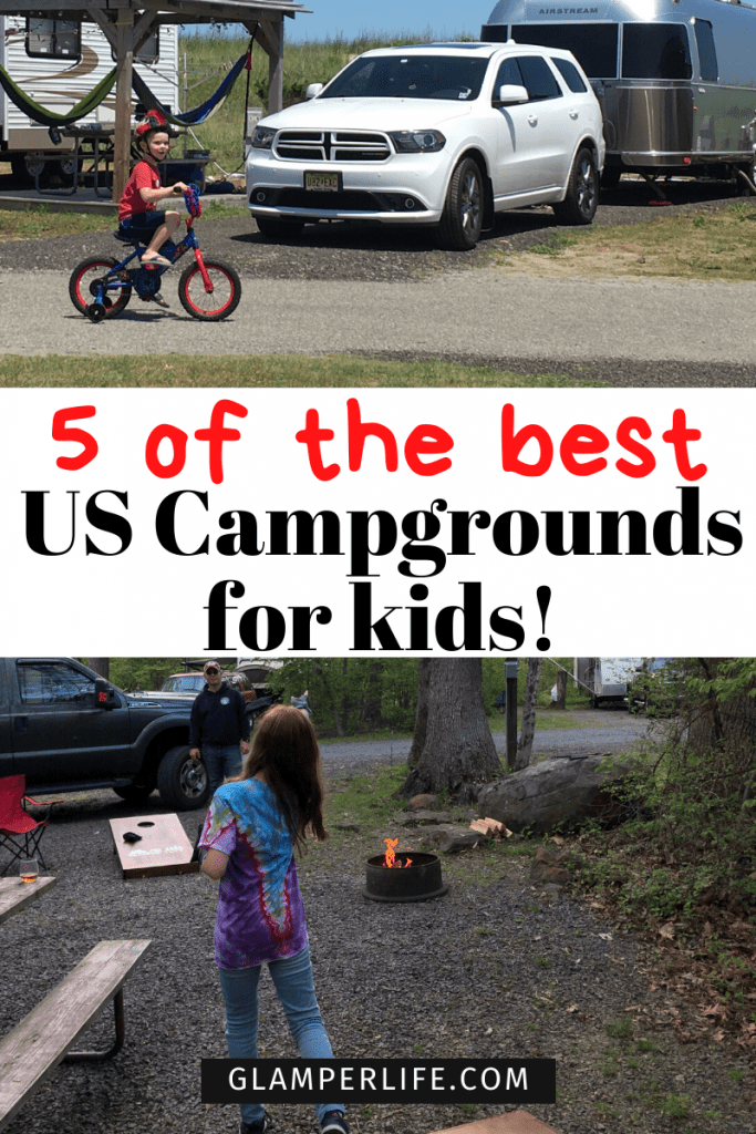 5 of the Best Campgrounds for Kids PIN