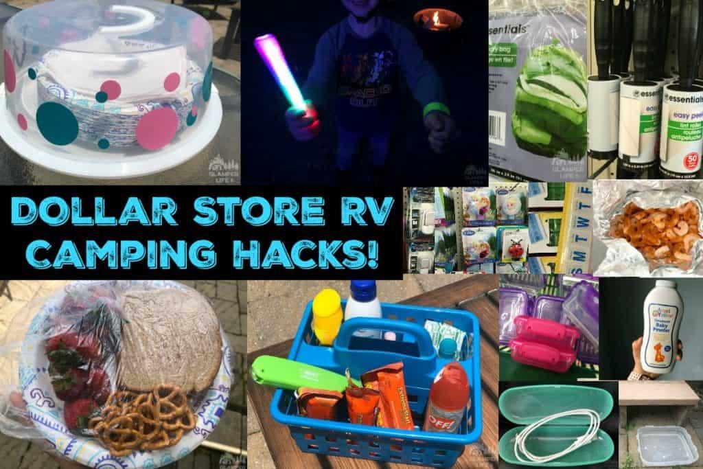 Dollar Store RV Camping Hacks