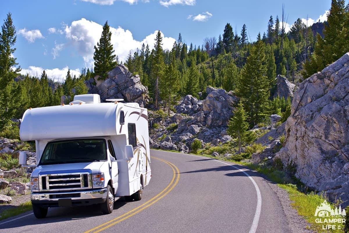 RV Rental Mountain Highway