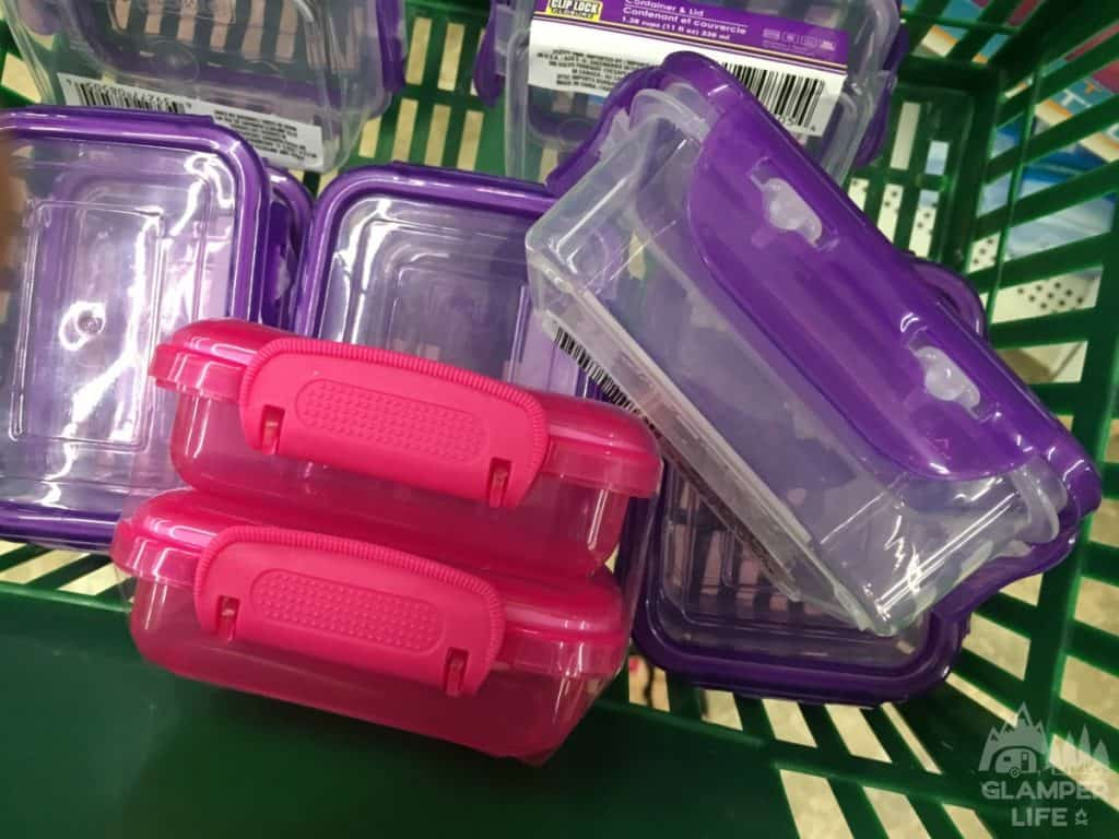 mini snap lid containers