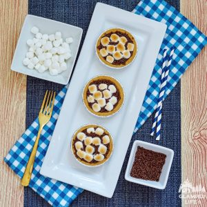 Mini S'mores Pie Recipe