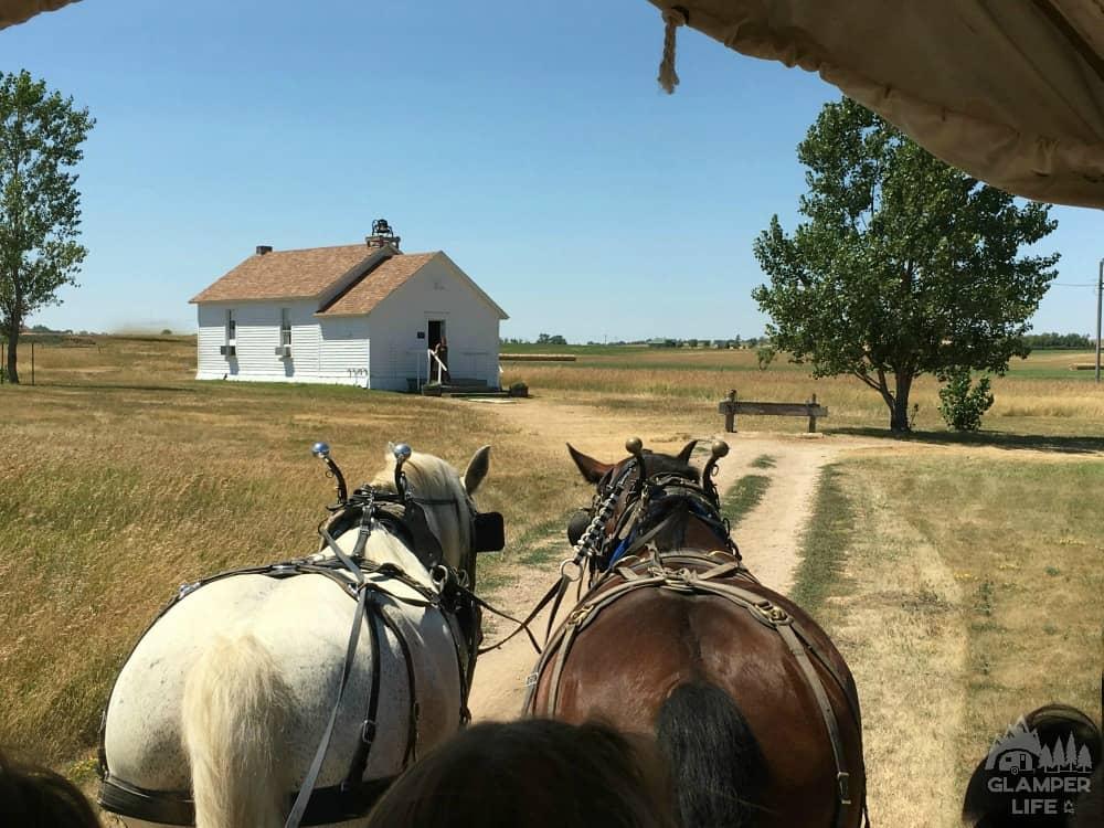 ingalls homestead wagon
