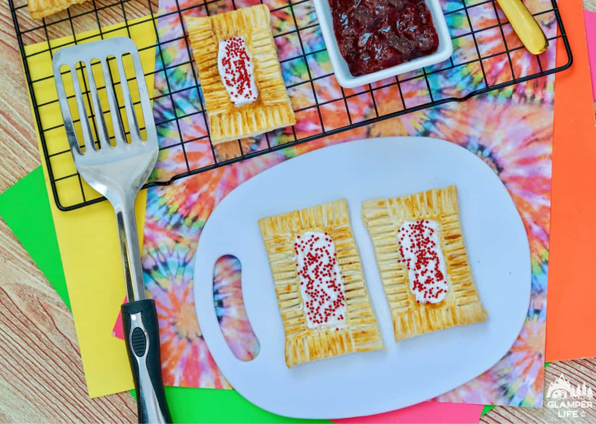 Strawberry Air Fryer Pop Tarts