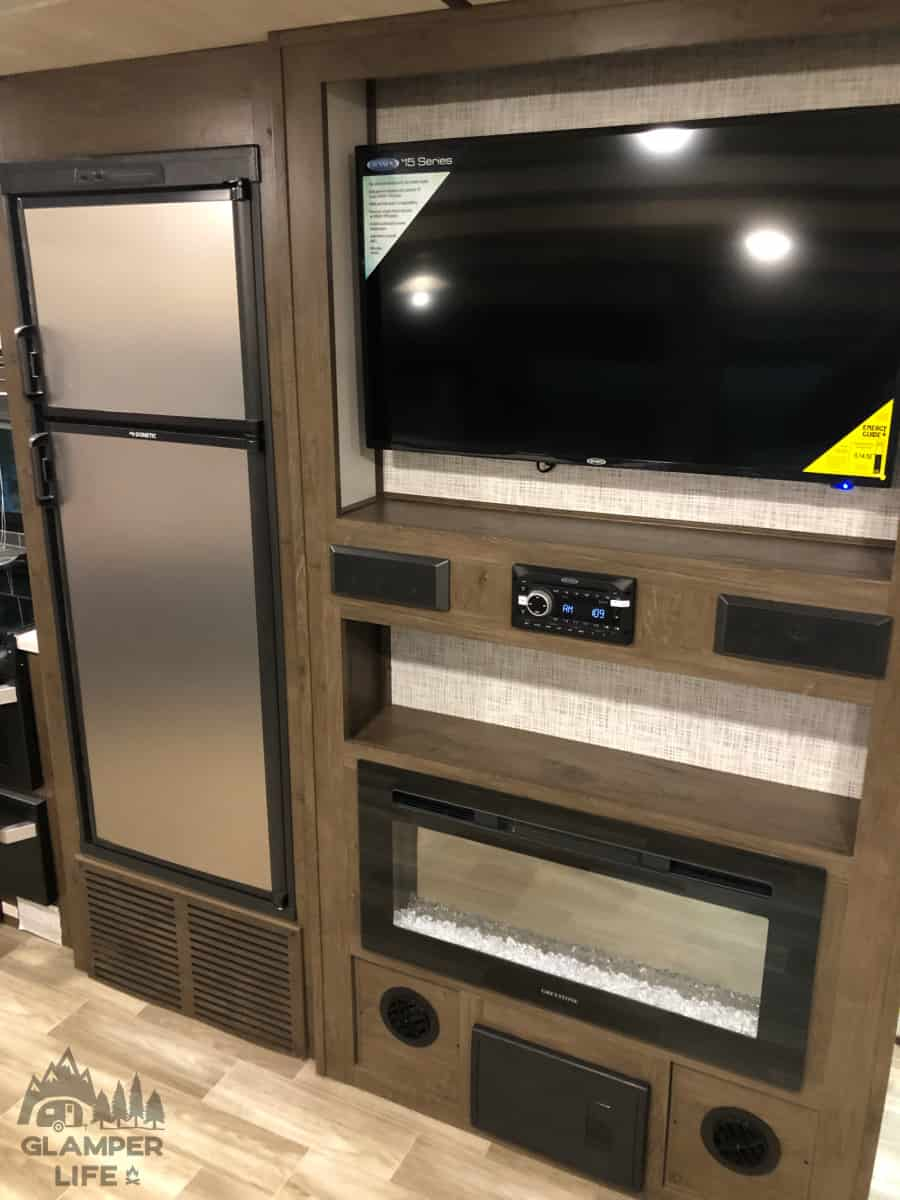 Wall Mounted TV RV