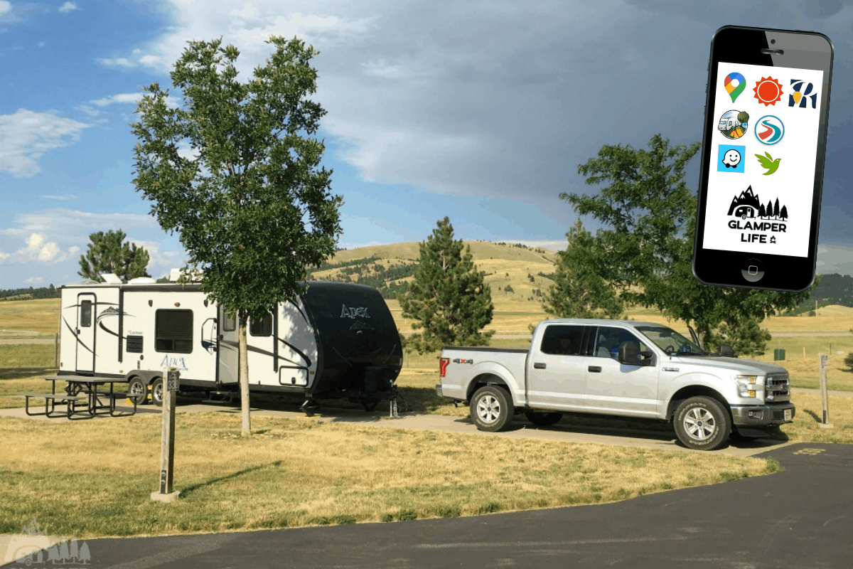 Best Camping Apps for RVers HERO