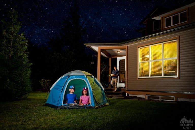 Backyard Camping with Kids GL