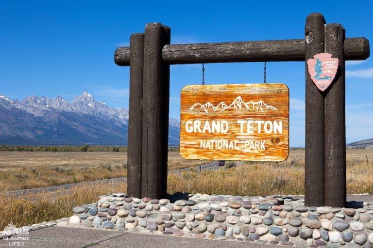 Grand Tetons Sign HERO