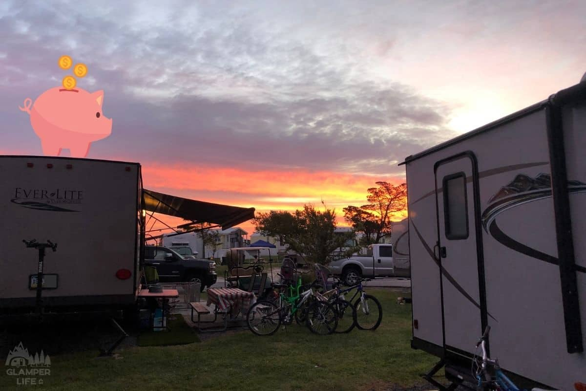 Saving Money While RVing
