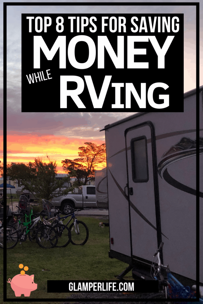 Top Tips for Saving Money While RVing PIN
