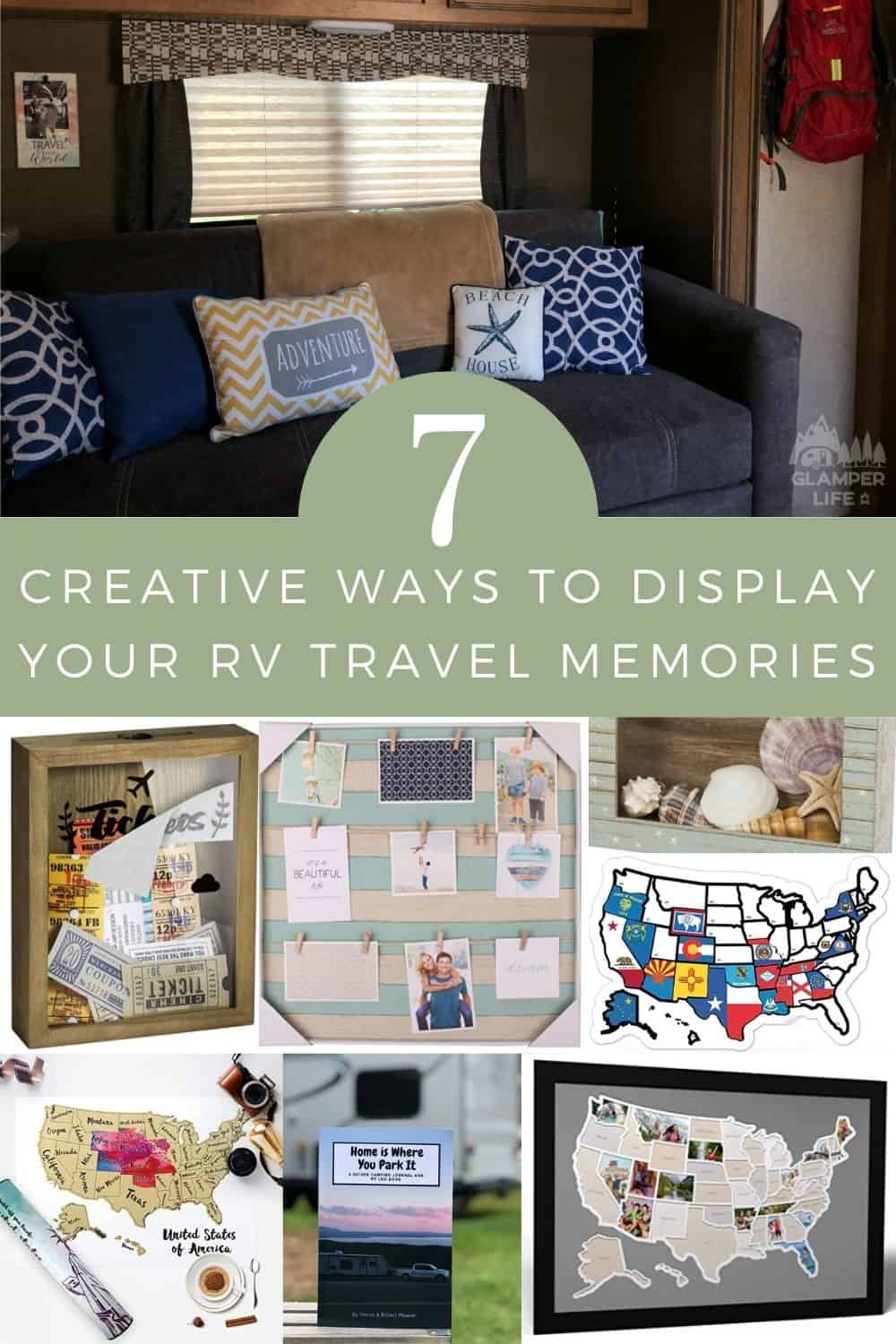 Creative Ways to Display Your RV Travel Memories PIN