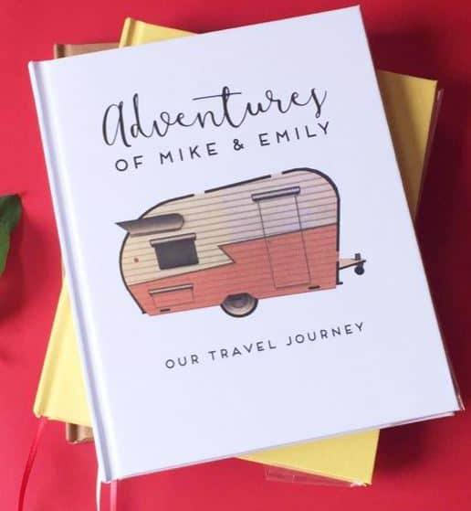 Personalized RV Travel Journal
