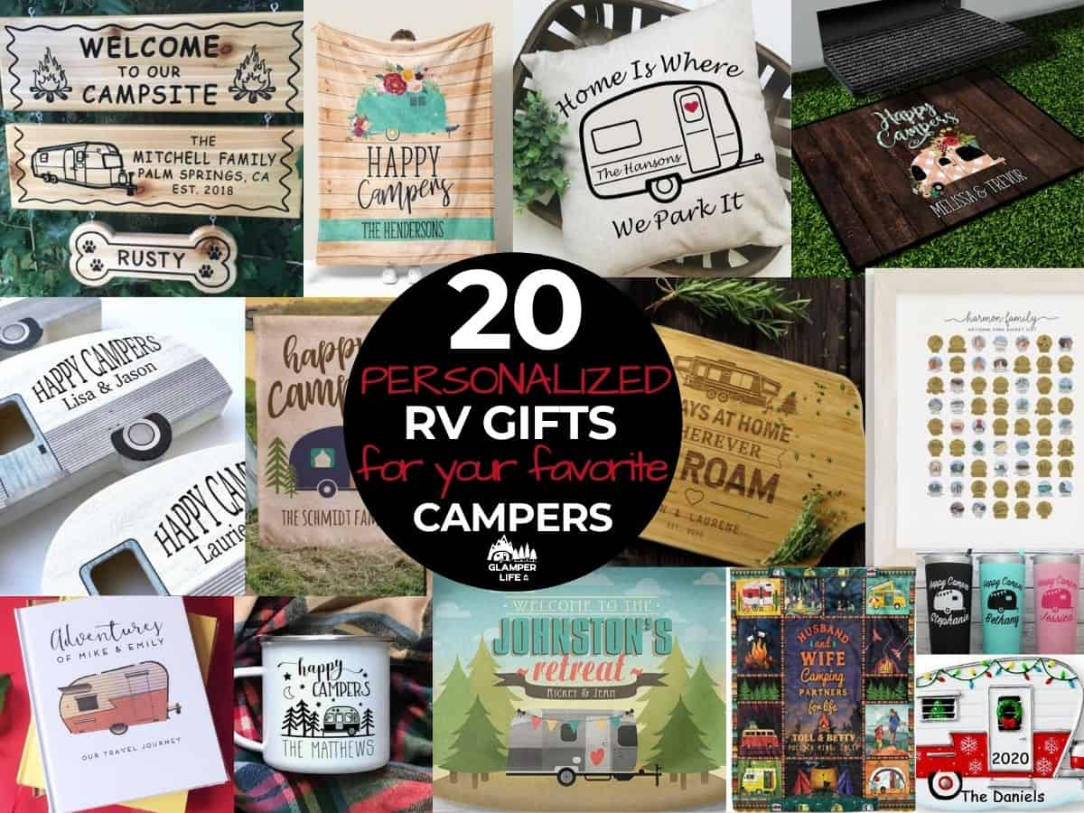 best personalized RV gifts