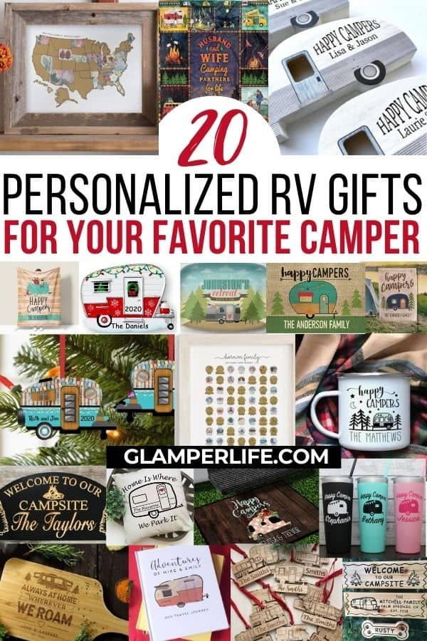 personalized RV gifts pin