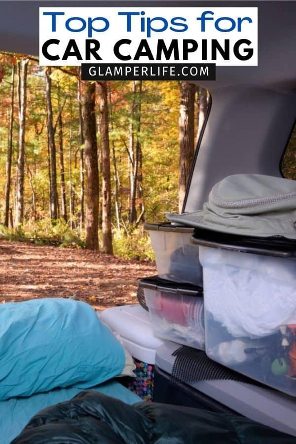 Car Camping PIN