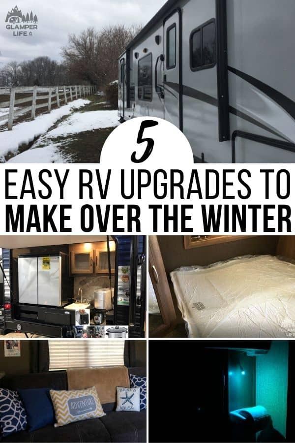 Easy Winter RV Upgrades PIN