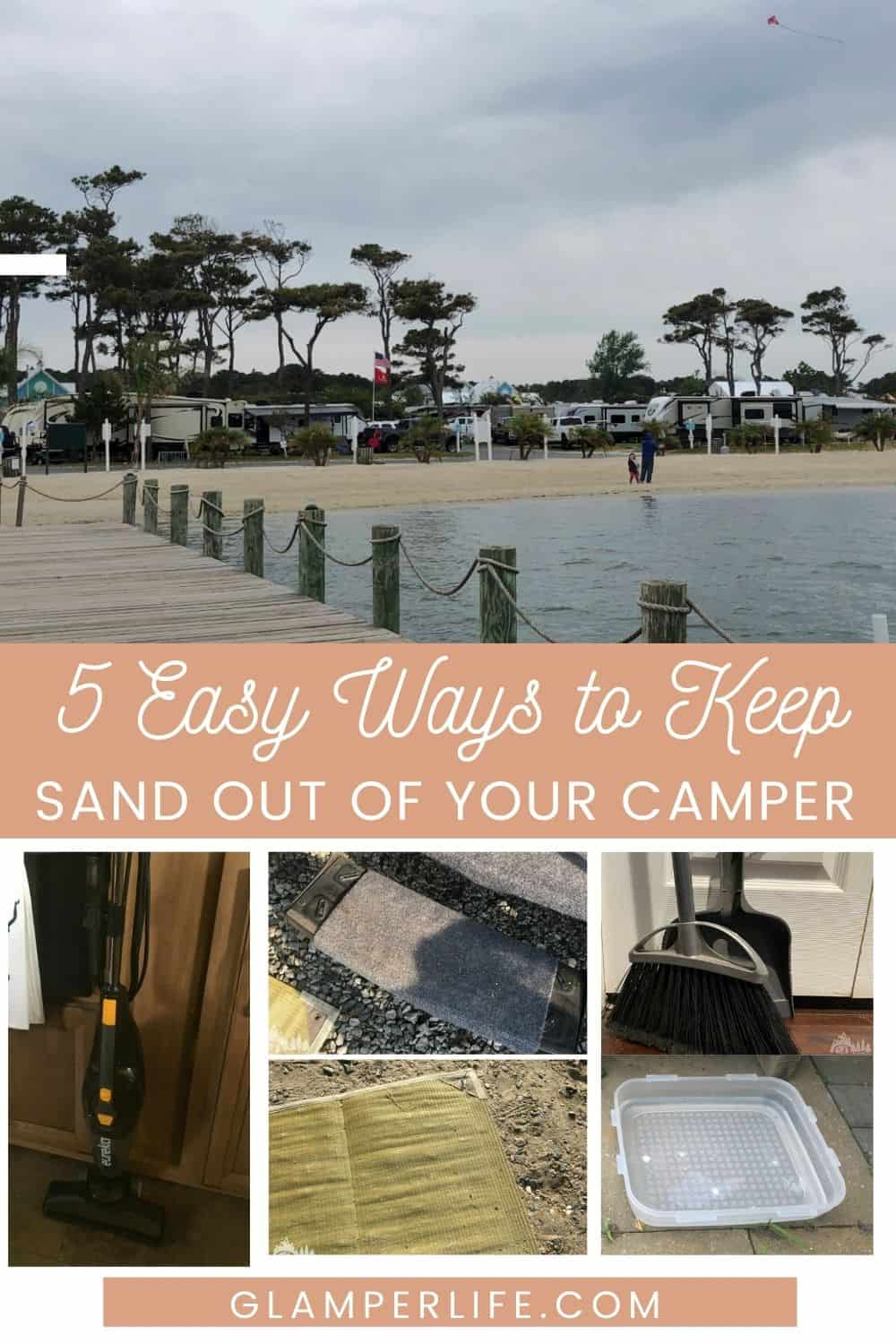 Keep Sand Out of Camper Pin