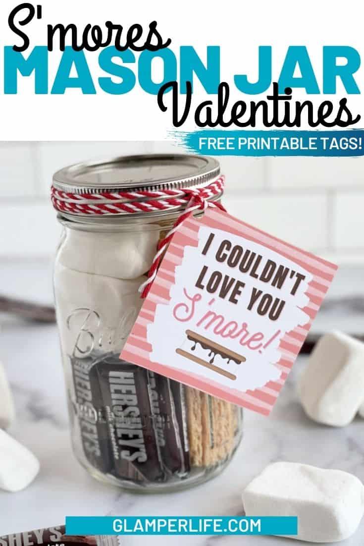 Smores Valentine Jars PIN