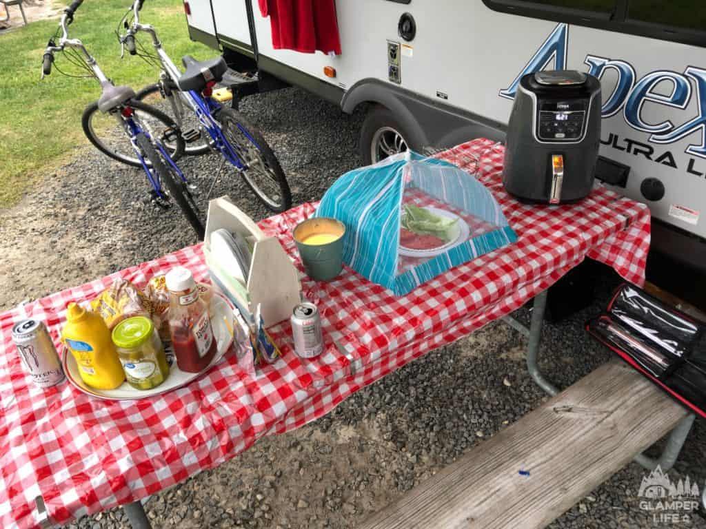 Dinner at Campsite (1)