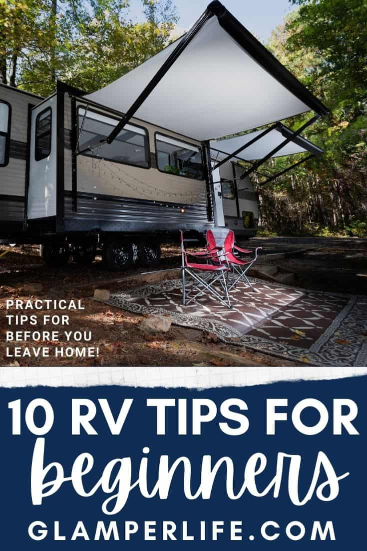 RV Beginner Tips PIN