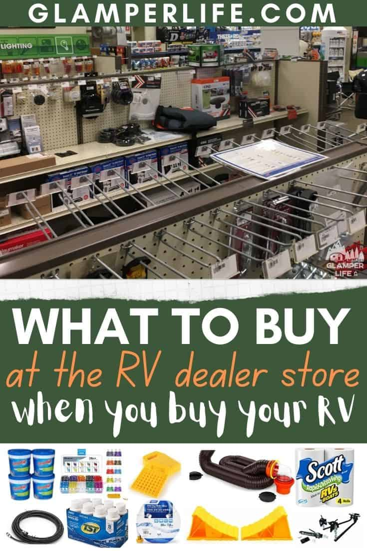 rv dealer store must buys PIN