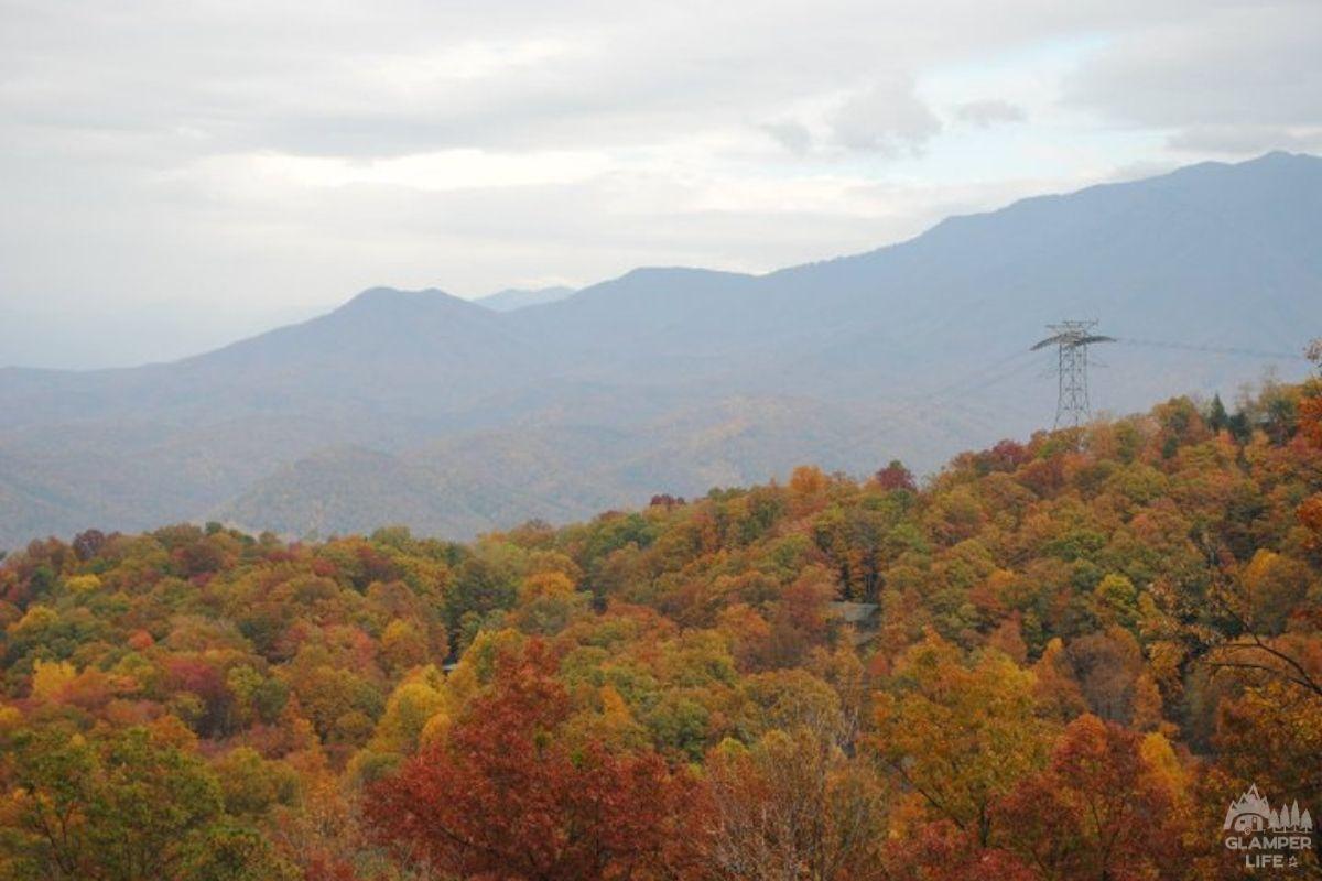 Fall Foliage Gatlinburg Mountains