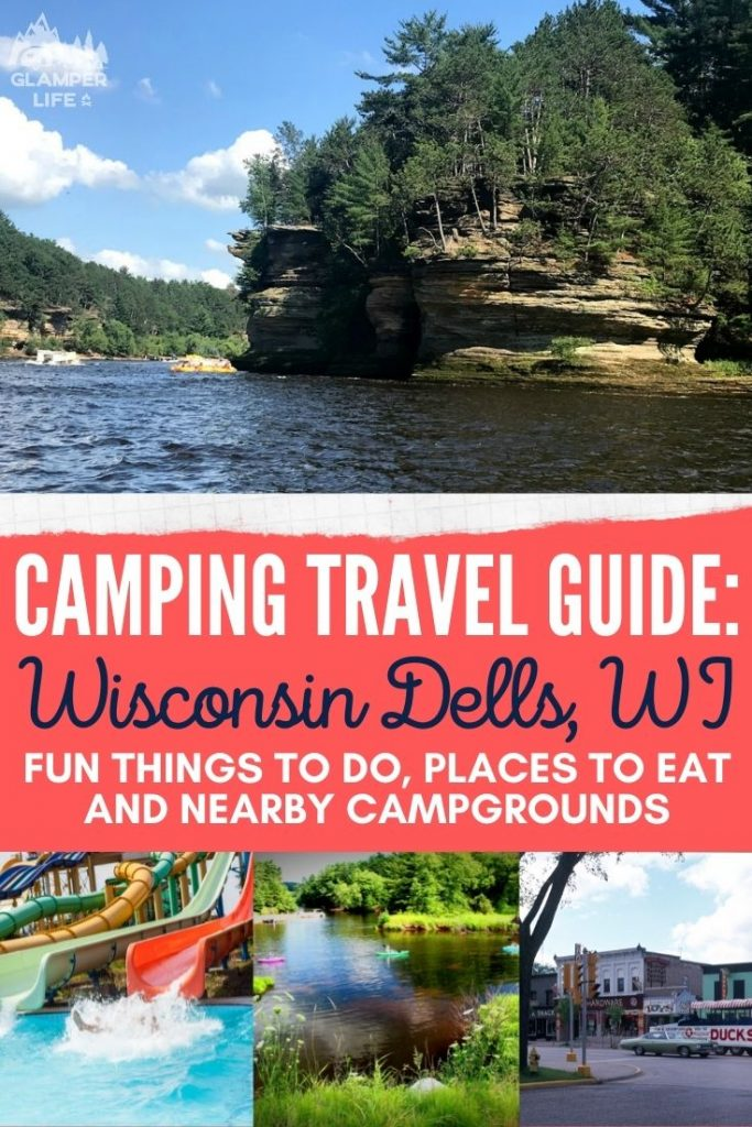 Wisconsin Dells Camping Guide PIN