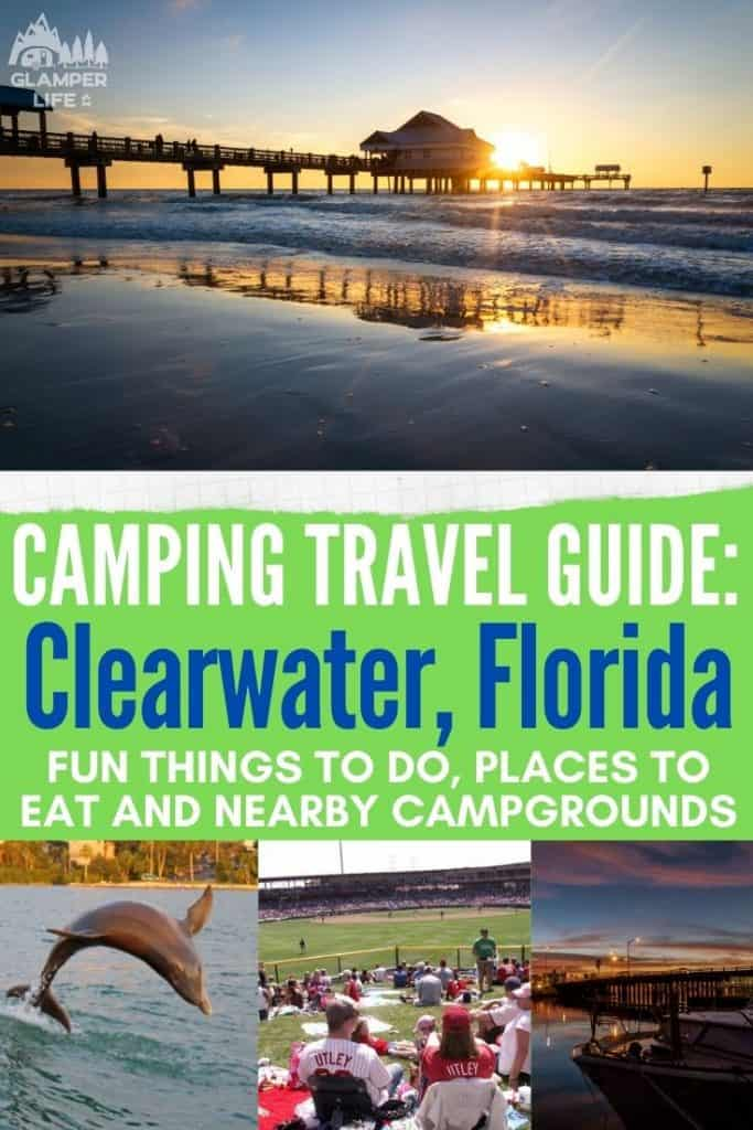 Clearwater Florida Camping Guide PIN