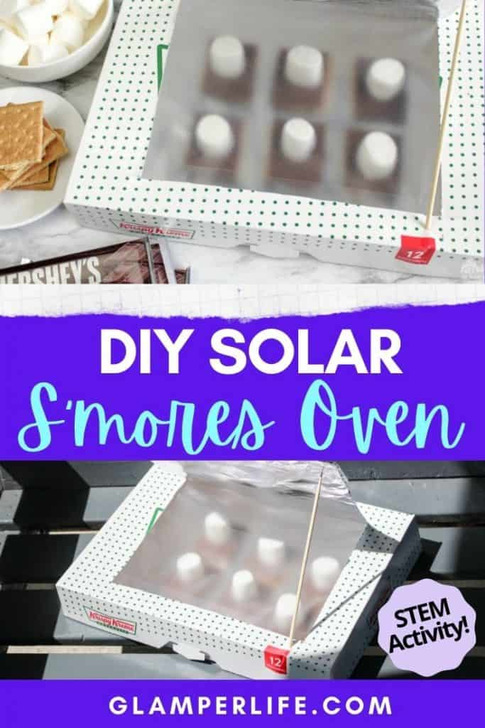 DIY Smores Solar Oven PIN