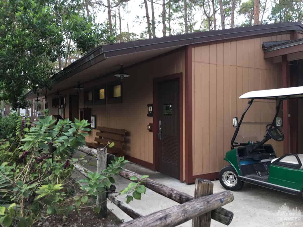 Disney Fort Wilderness Bathhouse