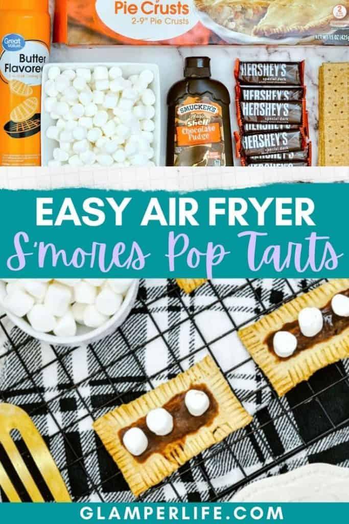 Air Fryer Smores Pop Tarts Pin
