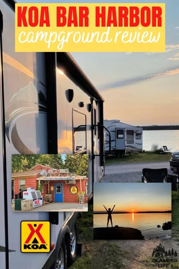 Bar Harbor KOA Campground Review PIN