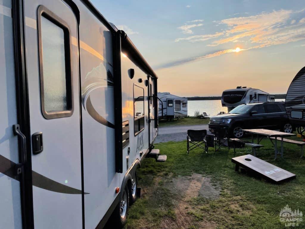 Campsite 222 KOA Bar Harbor