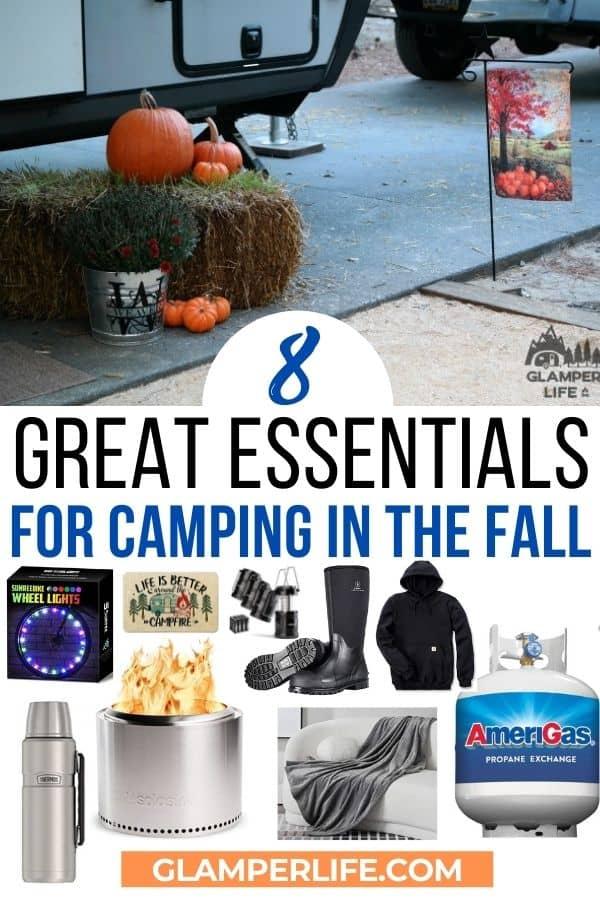 Fall Camping Essentials PIN