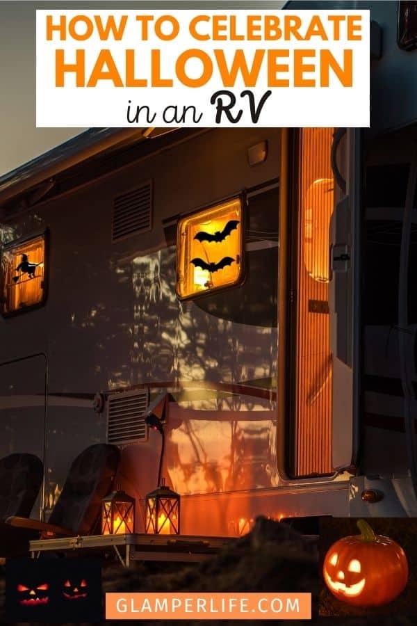 Campground RV Halloween Ideas PIN